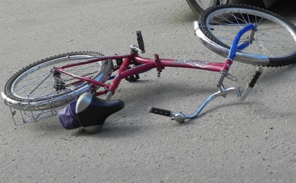 В Киреевске водитель без прав сбил велосипедиста