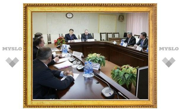 Количество депутатов Тульской областной Думы сократят
