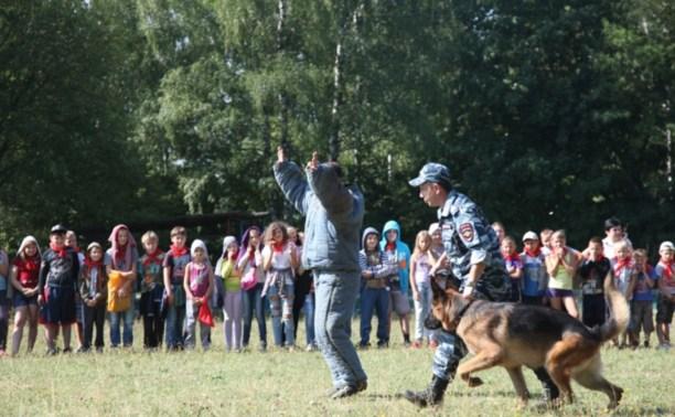 В Тульской области прошла акция «Зарядка со стражем порядка»