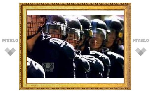Корейская полиция взяла штурмом завод SsangYong