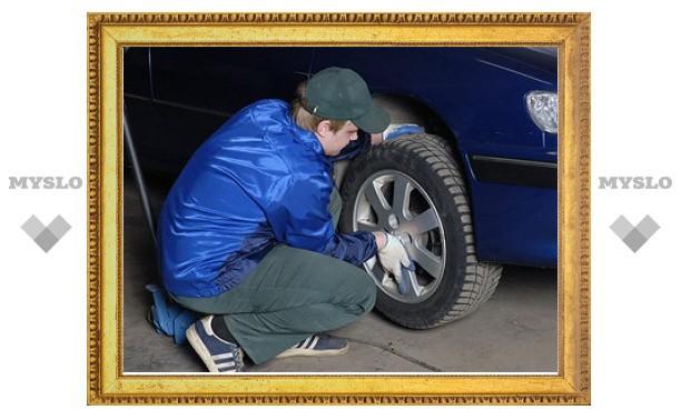 ГИБДД попросила водителей поменять шины