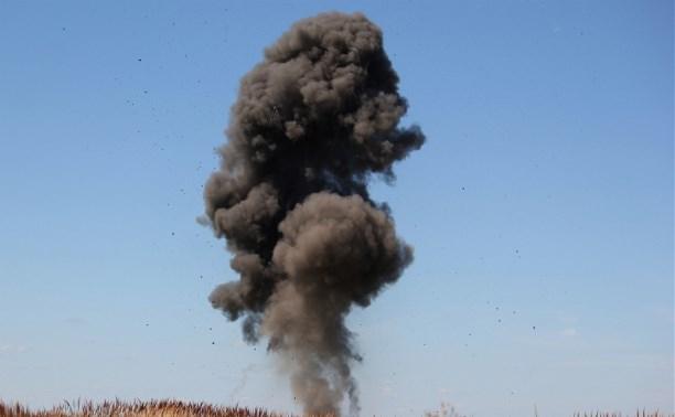 Тульские спасатели обезвредили две танковые мины и авиабомбу CS-25
