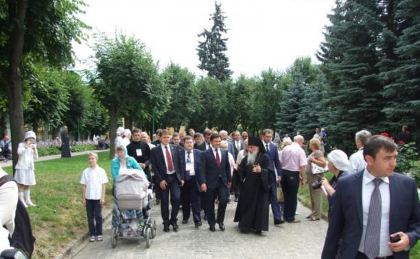 Владимир Груздев принял участие в праздновании 700-летия Сергия Радонежского