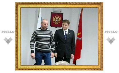 Губернатор вручил награды лучшим дорожникам Тульской области