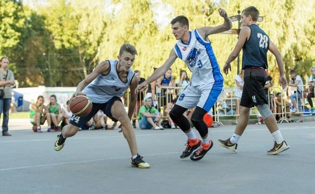 В Центральном парке Тулы определили лучших баскетболистов