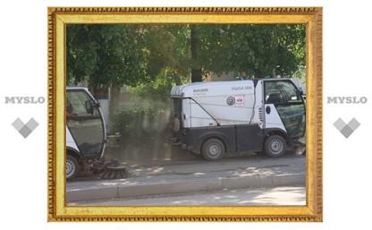 Зачем по Туле разбрасывают пыль?