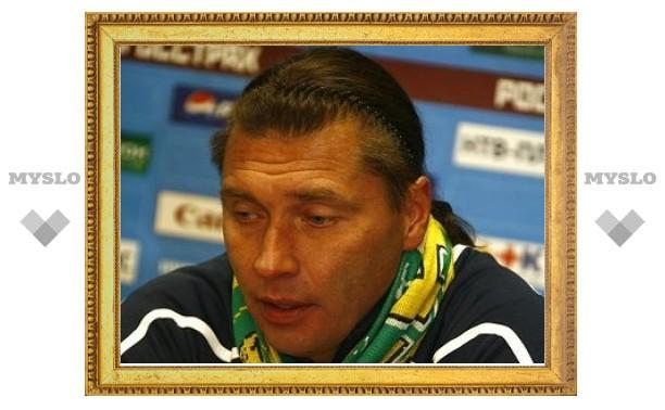 Сергей Овчинников возглавил худшую команду первого дивизиона