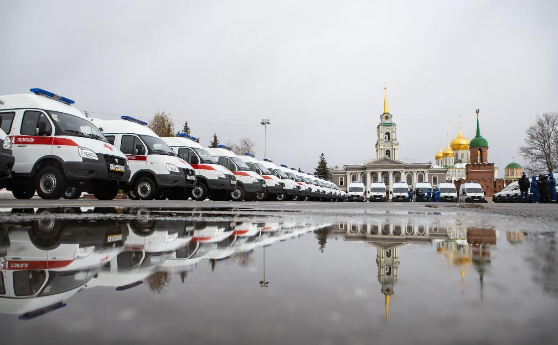 Алексей Дюмин передал региональному Центру медицины катастроф 39 новых автомобилей