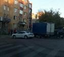 В центре Тулы «Газель» столкнулась с двумя легковушками