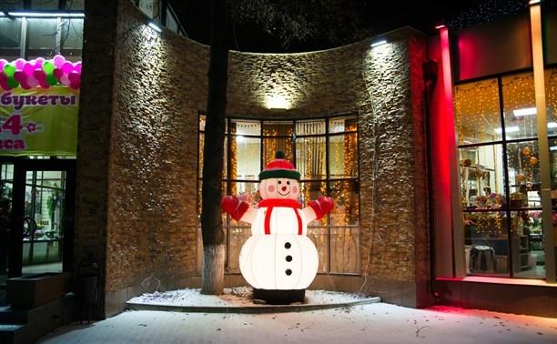 В Туле выберут самое красивое новогоднее здание