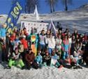 Горнолыжники и сноубордисты разыграли Кубок Тульской области