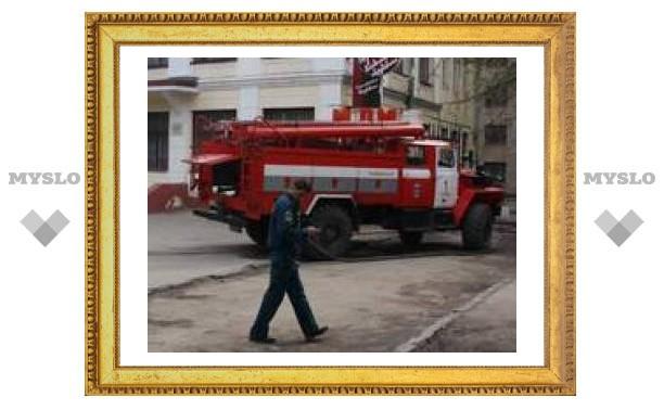 В центре Тулы горела школа