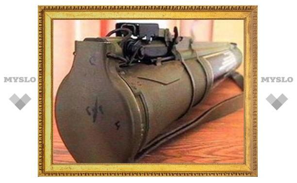 В Подмосковье обнаружена бочка с гранатометами