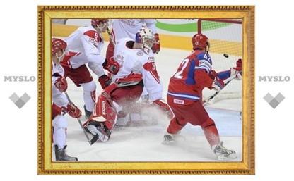 Россия обыграла Данию на чемпионате мира по хоккею