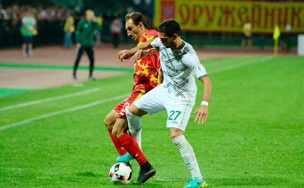 Нападающий «Арсенала» Руслан Мухаметшин: «Для меня важна поддержка болельщиков»