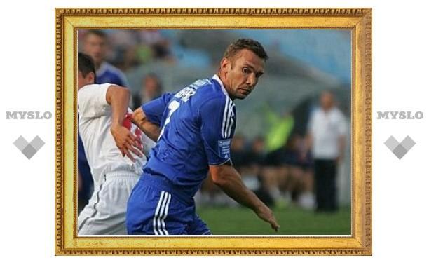 Андрею Шевченко сломали челюсть во время матча