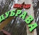 Кафе «Дубрава» в Туле будет закрыто и демонтировано