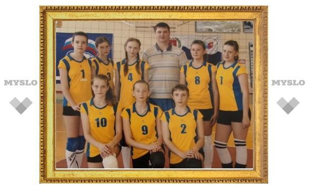 Юные волейболистки показали себя на первенстве России