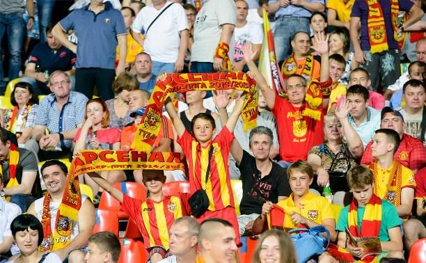 «Арсенал» разгромил «Томь» на выезде