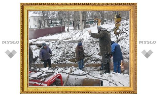 В Донском под Тулой продолжают замерзать люди