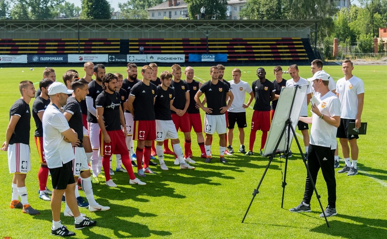 Тульский «Арсенал» завершил первые сборы