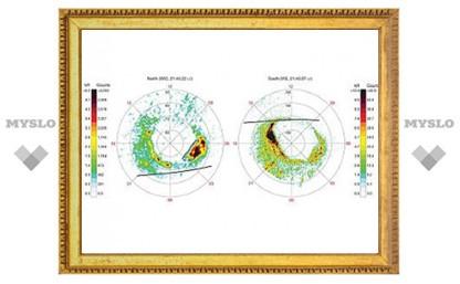 Астрономы обнаружили различия у северного и южного сияний