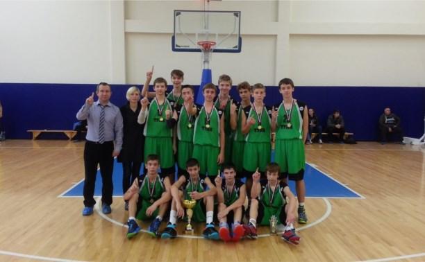 Юные баскетболисты с блеском отыграли в Курске
