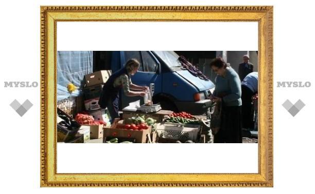 Тульский рынок не поделил покупателей
