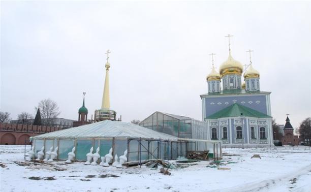 Крах «Первого Экспресса» не помешал реконструкции кремля
