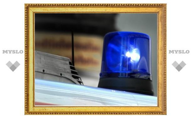 В Щекино полицейский автомобиль сбил школьницу