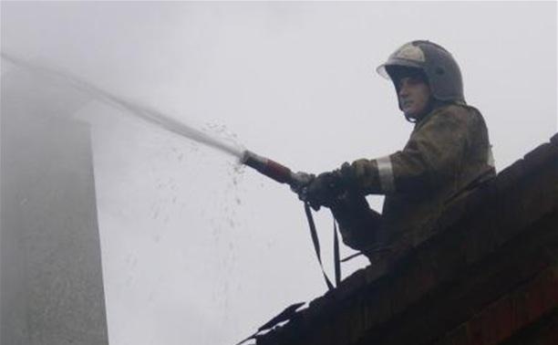 Неисправность печного отопления привела к пожару в частном доме в Ленинском районе