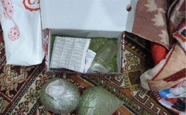 Сотрудники ФСКН задержали туляка с 3 кг марихуаны