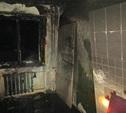 Пожарные спасли из горящей квартиры пять человек