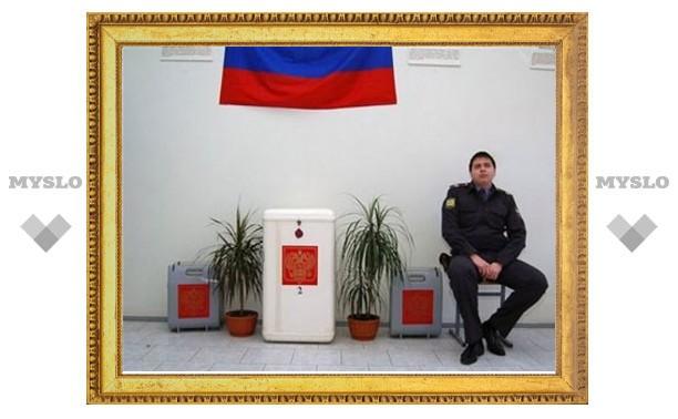 Выборы в Тульской области будут охранять 4500 полицейских