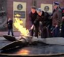 У мемориала «Защитникам неба Отечества» зажгли Вечный огонь