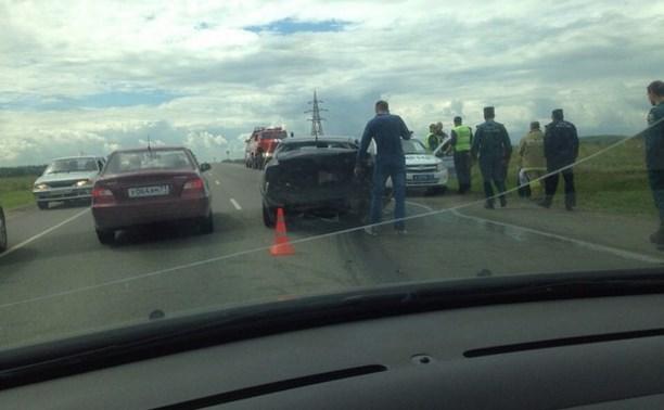 В Туле на Калужском шоссе произошло тройное ДТП