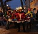 В историческом центре Тулы стартовал фестиваль креативных ёлок: фоторепортаж