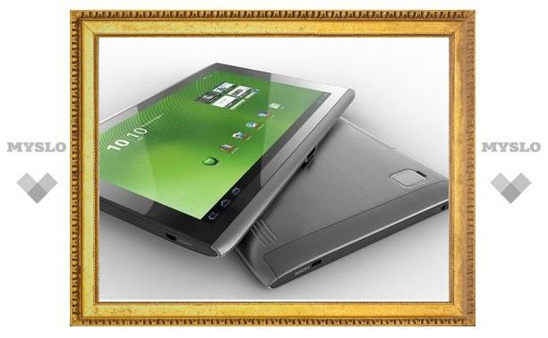 Acer представила планшет с Full HD экраном