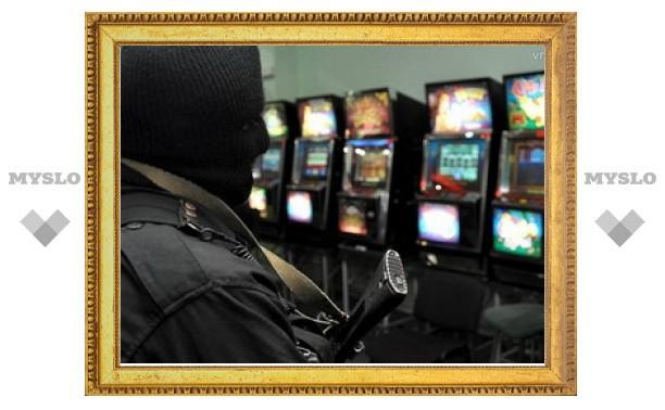 Тульские полицейские прикрыли подпольный игровой клуб
