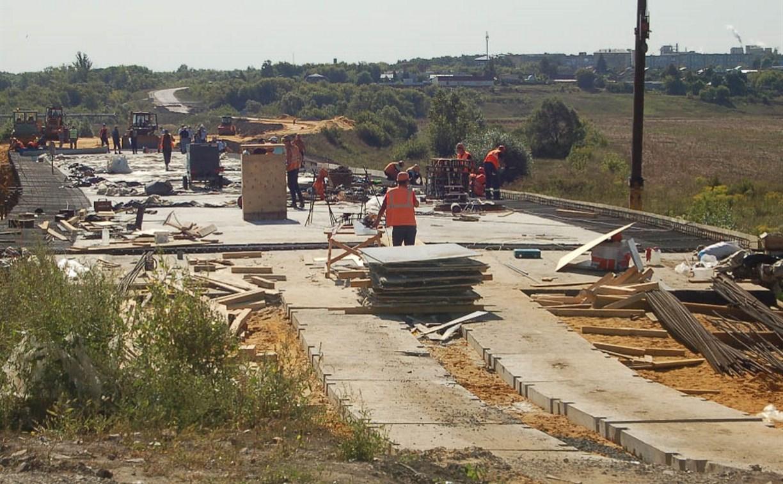 Мост через Красивую Мечу в Ефремове откроют до 24 сентября