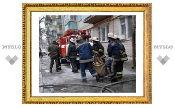 Пьяный туляк едва не спалил жилой дом