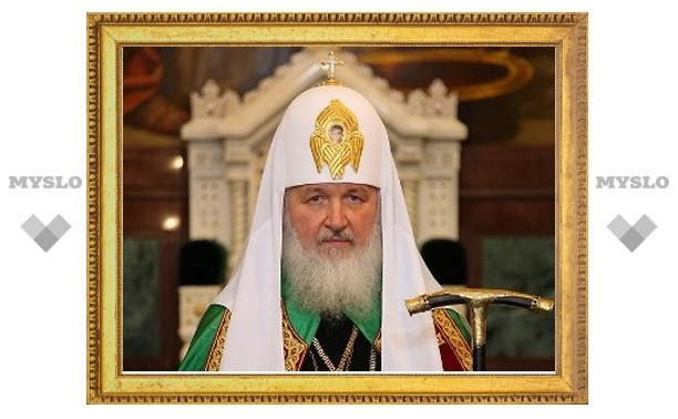 Патриарх Кирилл решил отправиться в космос