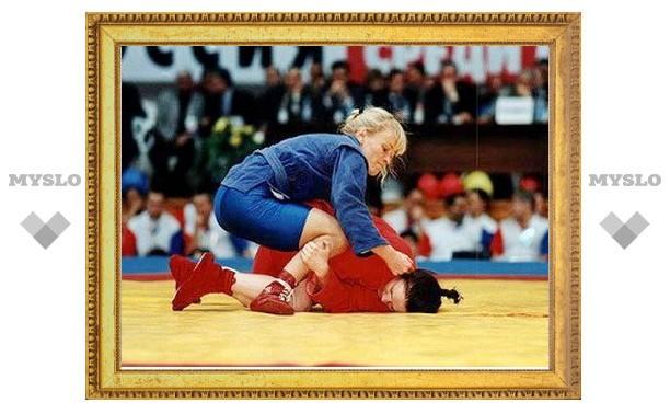 Тульская самбистка взяла российскую бронзу