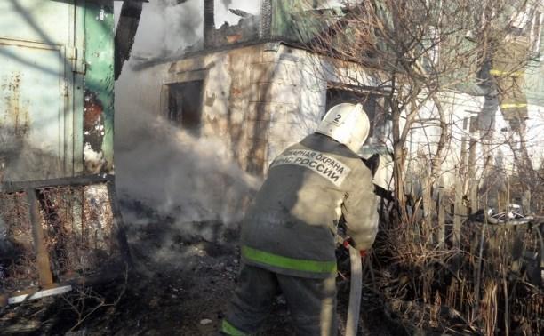 В посёлке Плеханово на пожаре погиб мужчина