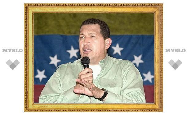 Чавес показал наведенные на Вашингтон ракеты