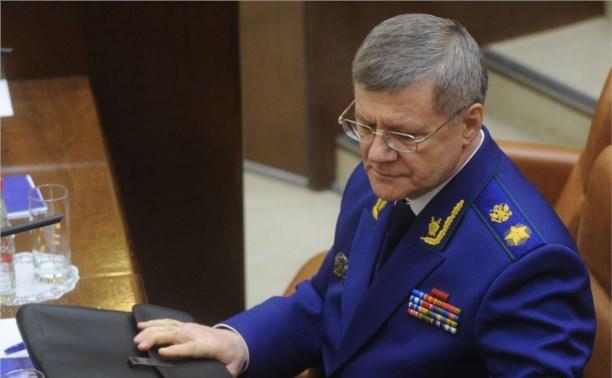 Из-за скандала в СМИ Юрий Чайка отстранил от обязанностей управделами Генпрокуратуры
