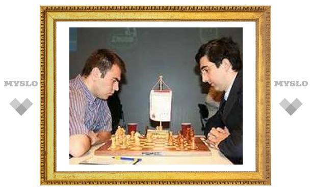 Крамник сохранил лидерство на турнире в Дортмунде