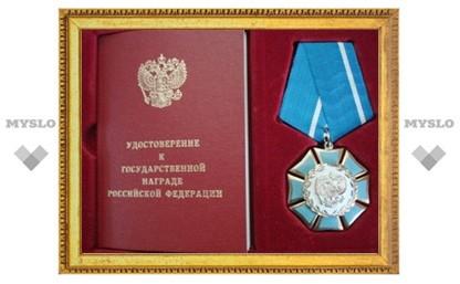 Владимир Груздев вручил щекинскому трактористу «Орден почета»