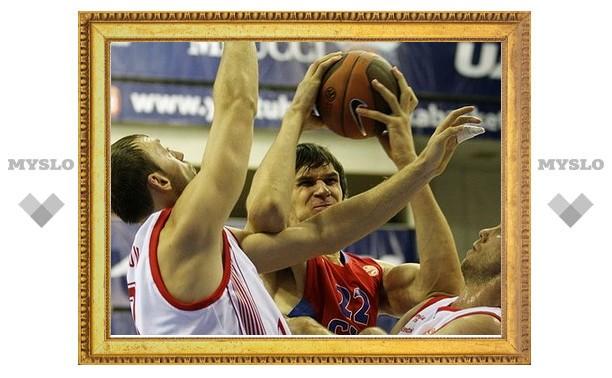 Баскетбольный ЦСКА стартовал в Евролиге с поражения