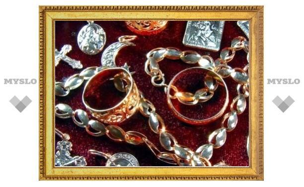 У тулячки украли золото на 300 тысяч рублей